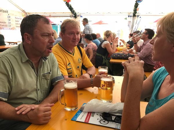 Family and friends. What more do you need Friends Family Straubing Gäubodenfest Straubing Group Of People Adult Men Food And Drink Day Real People Women