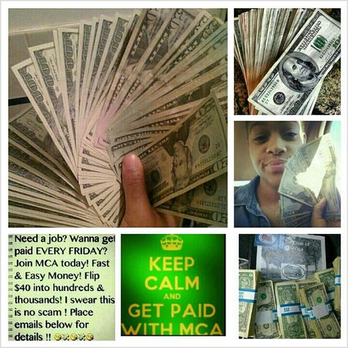 Join MCA Today And Turn $40 Into Thiss !! Text Me For More Info. 3013271502
