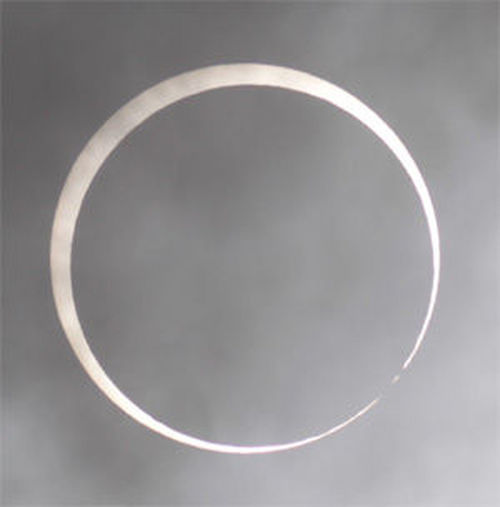 An eclipse of the sun; a solar eclips.filming location at planetarium at Joyo city Kyoto Planetarium Eclipse Sun Joyo Kyoto Japan Planet Solar Solar Eclipse