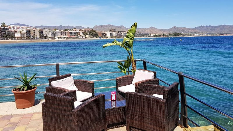 Sea Water Outdoors Day No People Vacations Travel Destinations Cityscape Nature Mountain Sky Architecture Clear Sky City Clear Sky Harbor Landscape Sea Relaxing View Refreshment Tables And Chairs