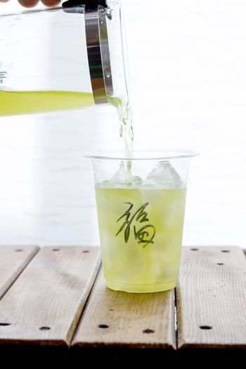 Japan Tea Green Tea Japanese Food Japanesetea フクダマコトフォトグラフィー Fukudamakotophotography Japanese Culture Drink Refreshment Food And Drink Table Glass Drinking Glass Freshness Indoors  Wood - Material Straw Close-up Still Life Healthy Eating Glass - Material Food