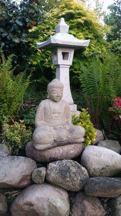 Statue Sculpture Religion Stone Material Buddha