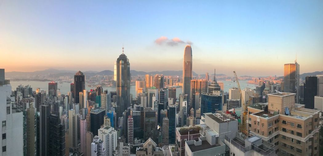 Sunset in Hong Kong Clear Sky Panorama Hong Kong Tourist Destination Building Exterior Architecture Built Structure City Office Building Exterior Building Sky Cityscape Skyscraper Modern Urban Skyline Sunset Crowded Panorama Hong Kong Tourist Destination Building Exterior Architecture Built Structure City Office Building Exterior Building Sky Cityscape Skyscraper Modern Urban Skyline Sunset Crowded