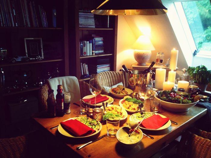 GOLDKIND Dinner For Friends Thank You! Home Sweet Home
