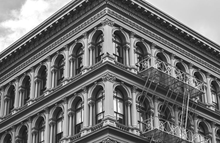 Untitied, #issakhari Arch Architecture Building Exterior Built Structure Day Issa Khari Issakhari Low Angle View Nature New York City No People NYC Outdoors Sky Soho