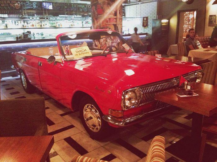 Red Car Restaraunt Moscow
