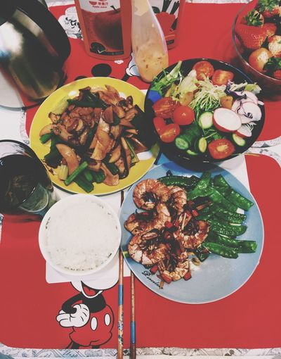 放假做饭给自己吃