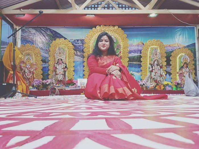 Festival Puja Durgapuja Hinduism Hindufestival Bengali Culture Bengali_Festival Nobomi Portrait Woman Woman Portrait Womanpower Girlpower Eyremphoto EyeEm Best Shots EyeEm Selects Eyeemphotography WeekOnEyeEm Enjoying Life Melbourne Colorful
