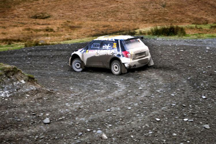 Car Dirt Road