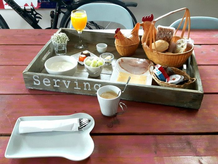 Breakfast / Frühstück Breakfast Coffee Frühstück Holiday Netherlands Bed&breakfast Bed And Breakfast Holland EyeEmNewHere Drink Plate Table High Angle View Close-up Food And Drink