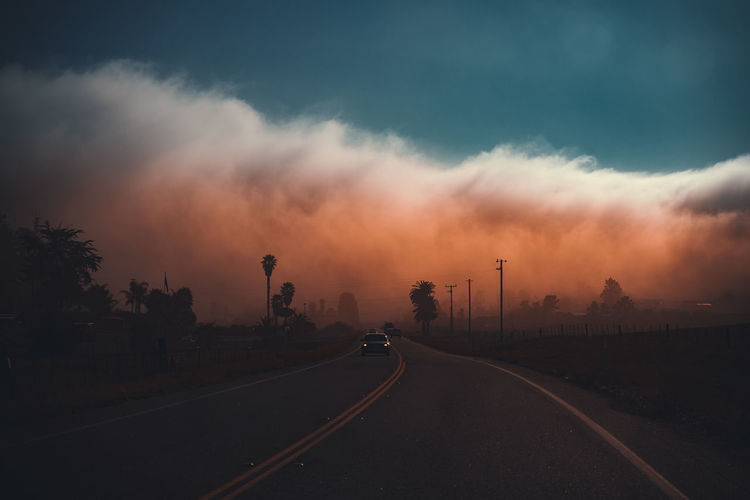 THE FOG Something is going on in Morro Bay... California California Dreamin Dramatic Sky Highway 1 Moody Sky Orange Pacific Pacific Coast Highway The Great Outdoors - 2018 EyeEm Awards USA United States Dramatic Landscape Fog Foggy Morning Hannes Saint-paul Mood Morro Bay Outdoors Pacific Coast Road Roadtrip Sky Sunset Transportation