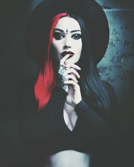 Happy birthday to the Bat Queen herself. My inspiration, i love her and hope to meet her on day.. Ash Costello New Years Day Band Singer  Goth Goth Girl Inkedgirls Deadgirl Batqueen Gothchick Tattoos Gothstyle