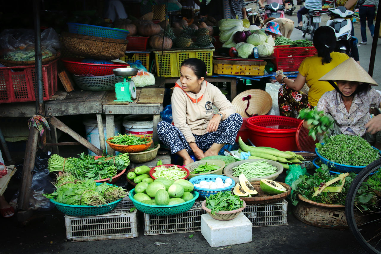 real people, retail, small business, freshness, market, for sale, vegetable, one person, market stall, food and drink, variation, day, outdoors, basket, choice, food, healthy eating, full length, working, men, occupation, people