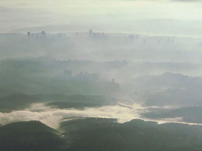 Smokey town