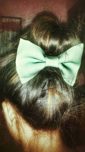 bow and bun ♡ Hairbow Messy Bun Photography ObsessiveEdits
