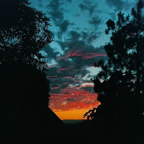 Epic sky colors VSCO Vscocam Lasunsets MyDayInLA