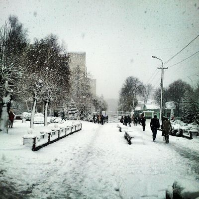 Nice Winter in Vinnitsa Vnua