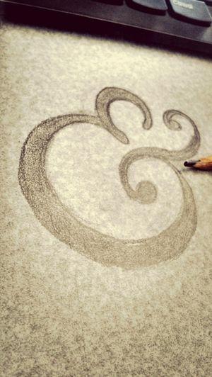 Letter Check This Out Sketch :) la vida es demaciado corta para caminar mirando al piso...