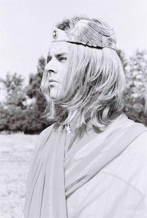 Hermes God Thor  Crown Crown Longhair Blond Blonde Hair Men