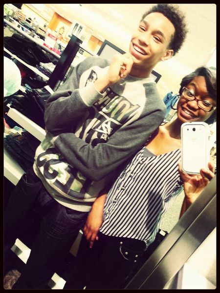 at lenox with my sis