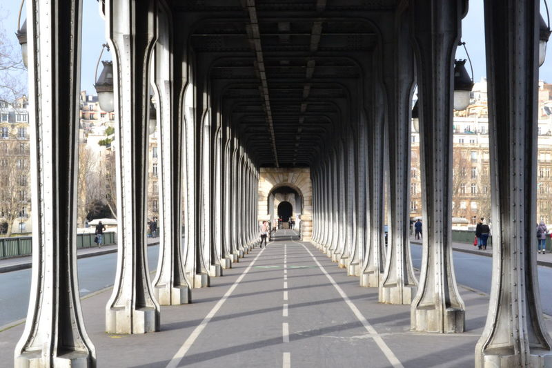 Absence Arch Architectural Column Architectural Feature Architecture Ceiling Colonnade Column Corridor Design Flooring In A Row Inception Inception Bridge Indoors  Leading Narrow Order Pillar Repetition Steps Symmetry The Way Forward Under Bridge Walking