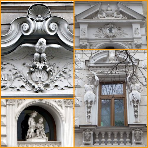 Vienna Impressions Beautiful Vienna❤ For My Friends😚 Love That Skulptures Everywhere Ornate No People Day Outdoors