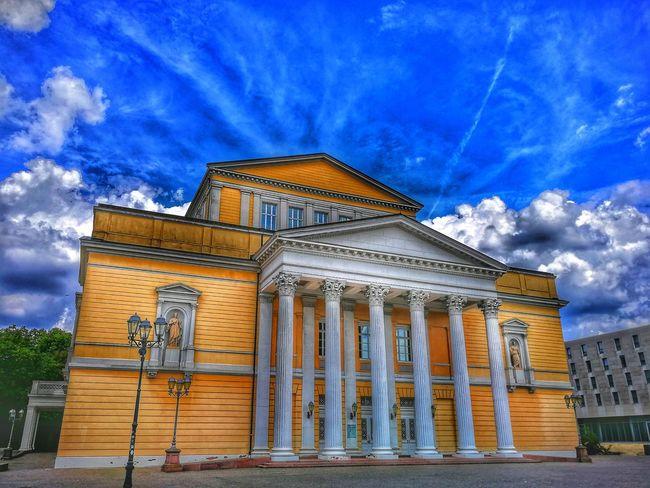Politics And Government City Blue Façade Religion Sky Architecture Building Exterior Built Structure Cloud - Sky Civilization Historic Passageway