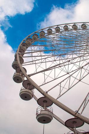 Cielo Ferris Wheel France Francia Marseille Marsiglia Ruota Ruota Panoramica Sky The Architect - 2016 EyeEm Awards