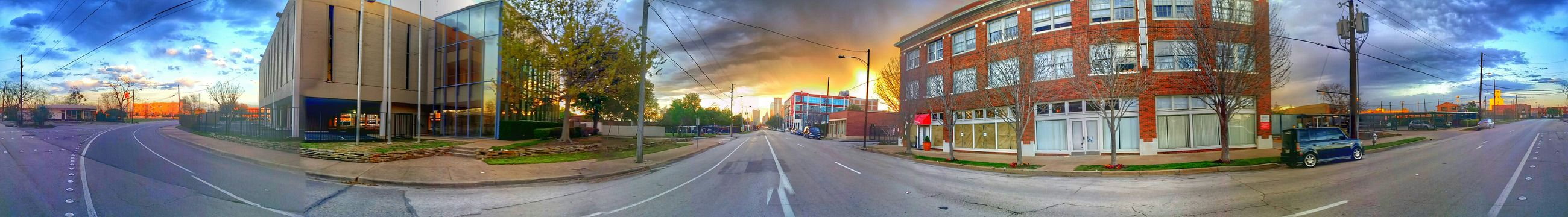 360shot Samsung Galaxy Note 3 Photography Dallas Tx Deepellum Snapseed Sunset