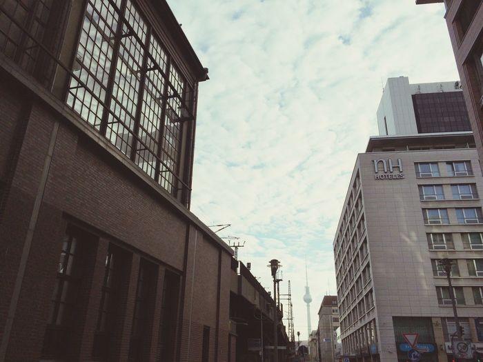 Seeing The Sights Berlin Fernsehturm TV Tower