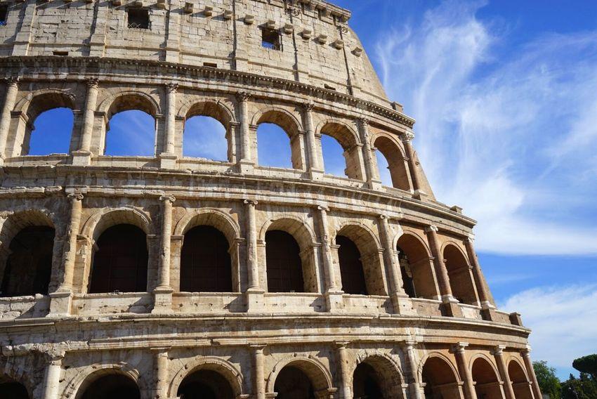 Collosseum Rome Rome Italy Italy Sunshine Architecture Architecture_collection Roman