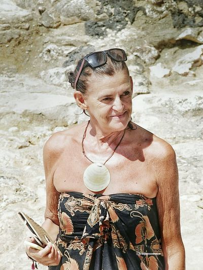 Light And Reflection NecklaceEyeEm Gallery Beach Outdoors Portrait One Person Adults Only Adult Portrait Of A Woman Portrait Photography Candid Candid Photography Candid Portraits Light And Shadow Olympus OM-D E-M5 Mk.II Fashionable Goodlooking