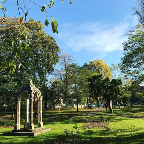 Beautiful Day in Sandford Park, Cheltenham Cheltenham Beauty In Nature Blue Sky Green Grass Branch Cemetery Cloud - Sky Cotswolds Day Grass Green Color Growth Monument Nature No People Outdoors Park Scenics Sky Tranquil Scene Tranquility Tree