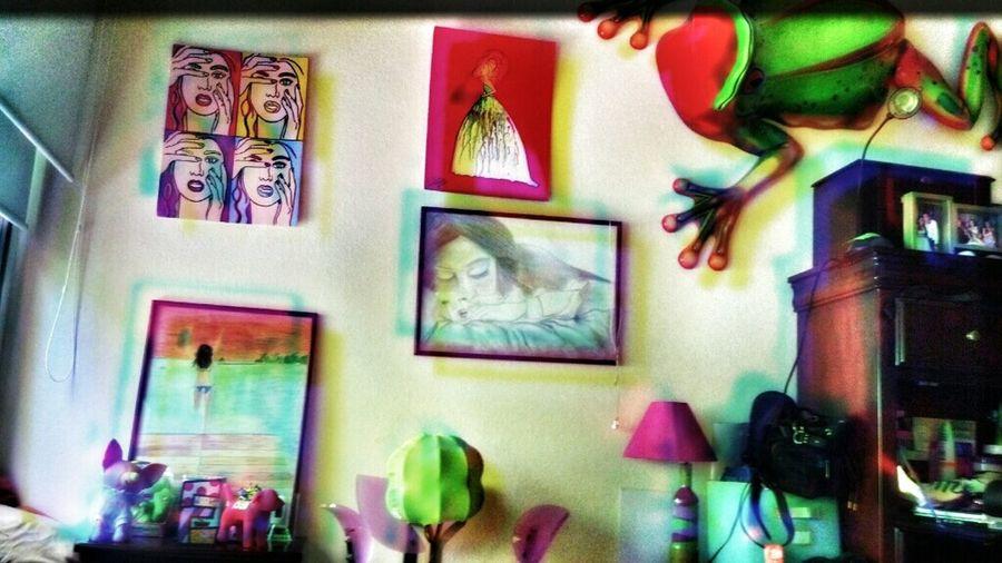 Art Wall Room Collors Frog