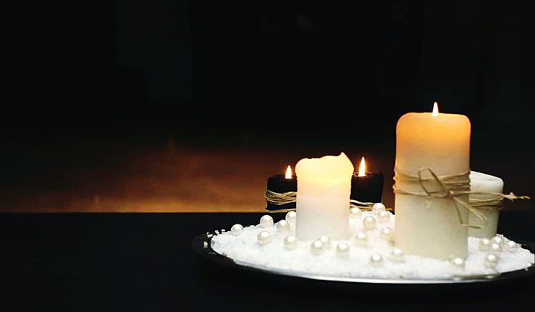Hello World Candlelight Candle Scented Candle Fire :)