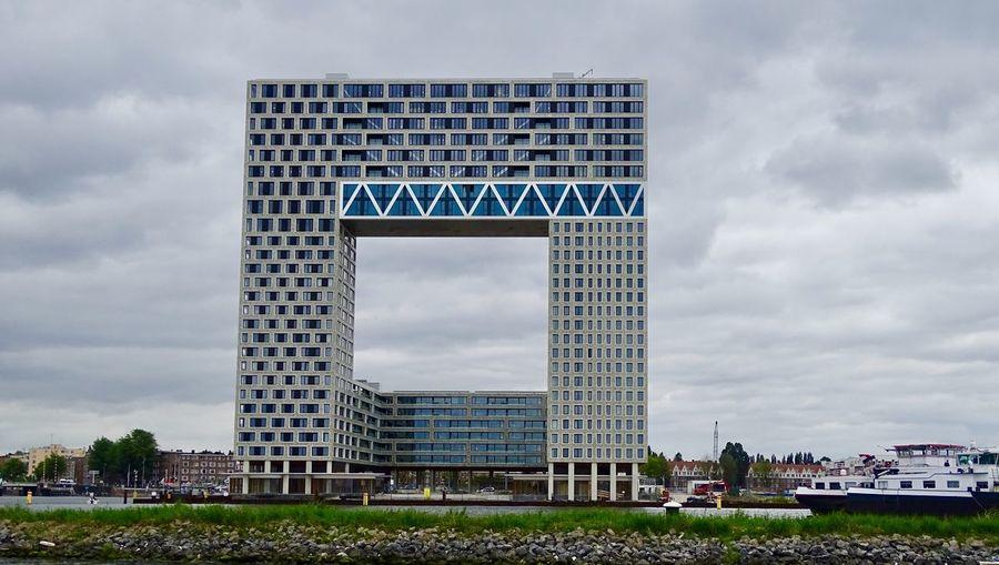 Built Structure Architecture Sky Building Exterior Cloud - Sky City Building
