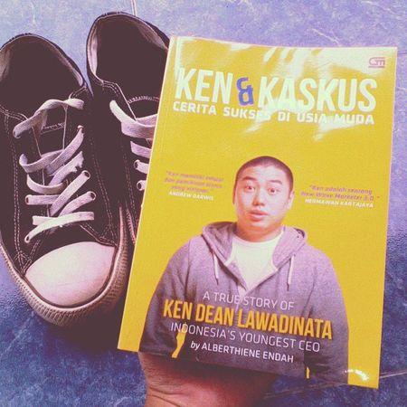 Ken & Kaskus Book Biography KenDeanLawadinata Kaskus vsco vscocam instagood shoes cats converse