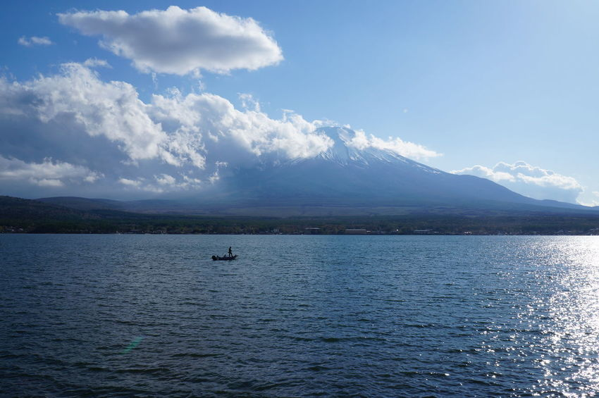 Mt.Fuji Mt.Fuji_collection Mountains Lake Yamanashi Japan Yamanakako Yamanaka Lake Japon Photograph