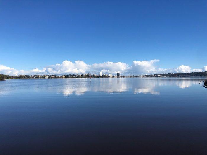 Perth Winter EyeEm Western Australia Australia Water Sky Reflection Waterfront Nature Tranquility Blue Cloud - Sky