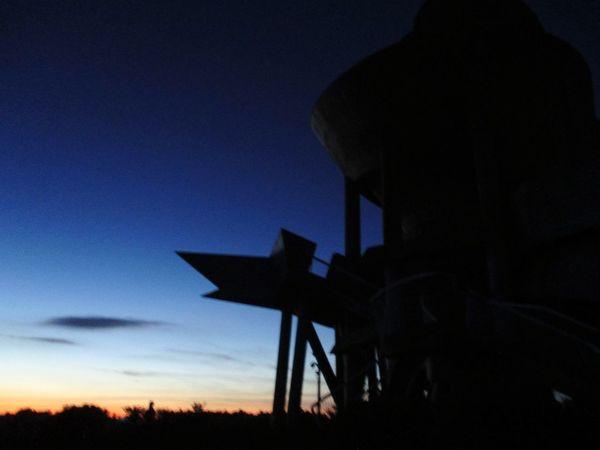 silhouette and gradation. Silhouette Sunset Outdoors Sky Astronomical Observatory EyeEm Selects Kagoshima Kihoku-cho