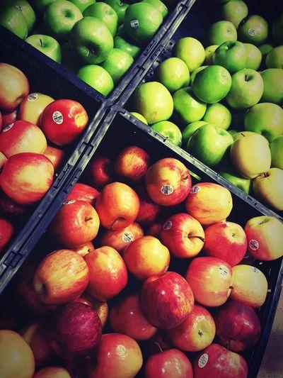Fruit Market Fruit Box Apples Green Apple Fruits From Market Green Red Red Apples Yum Apples For Sale Sweet Applestore Apples Anybody? Apples:) Apple - Fruit HEB