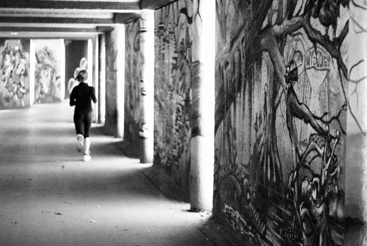Person Rennen Laufen Graffiti ArtWork Art, Drawing, Creativity Underground