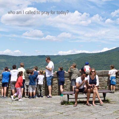 No27 in series 'in our prayers (contemplative intercession)' Stillness Prayer Contemplation Cortona Shrine People