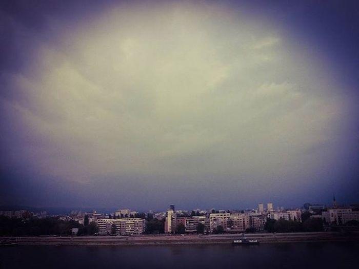 View Photo Capture Moment Danube Novisad Sky Buildingsontheriver Photooftheday Instaphoto Instadaily Instamoment