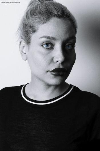 Nikanmahichi Blackandwhite Portrait Girlphotography