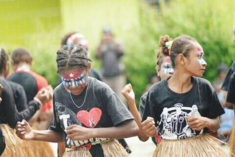 Women Friendship Celebration Large Group Of People Young Women Social Issues West Papua Flag Arts Culture And Entertainment Lifestyles Traditional Clothing West Papua People Papua Free Of Indonesia Colonial West Papua Politic Of Freedom West Papua Culture West Papua Girl West Papua Women Patriotism Countrylife Uniform Of West Papua Tradition West Papua Tradition West Papua Want To Free Of Indonesia Colonial.