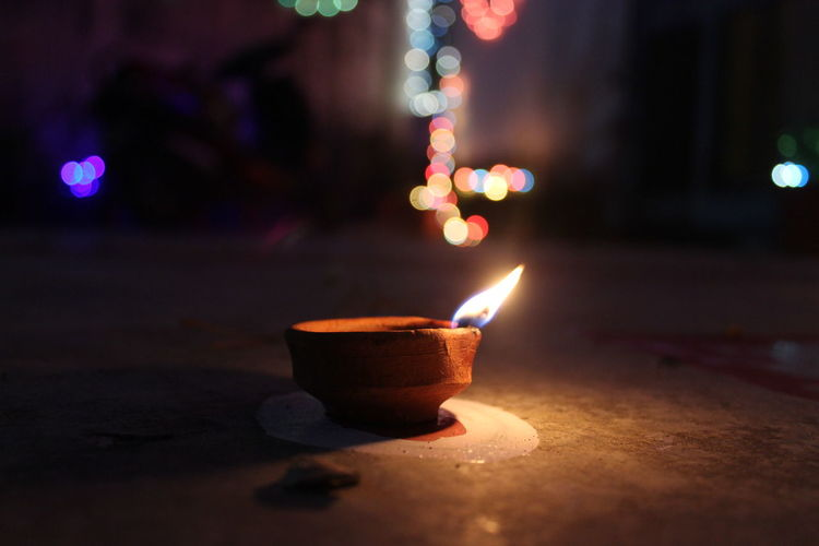Deepawali Light Macro Photography 43 Golden Moments Fine Art Photography