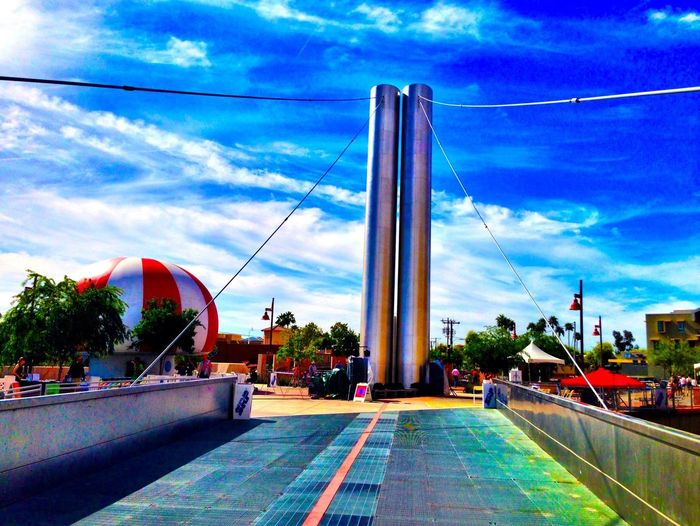 Soleri Bridge at Scottsdale Canal Convergence Festival Scottsdale Public Art Eyeem Phoenix Meetup2 Canal Convergence Theartofiphoneography