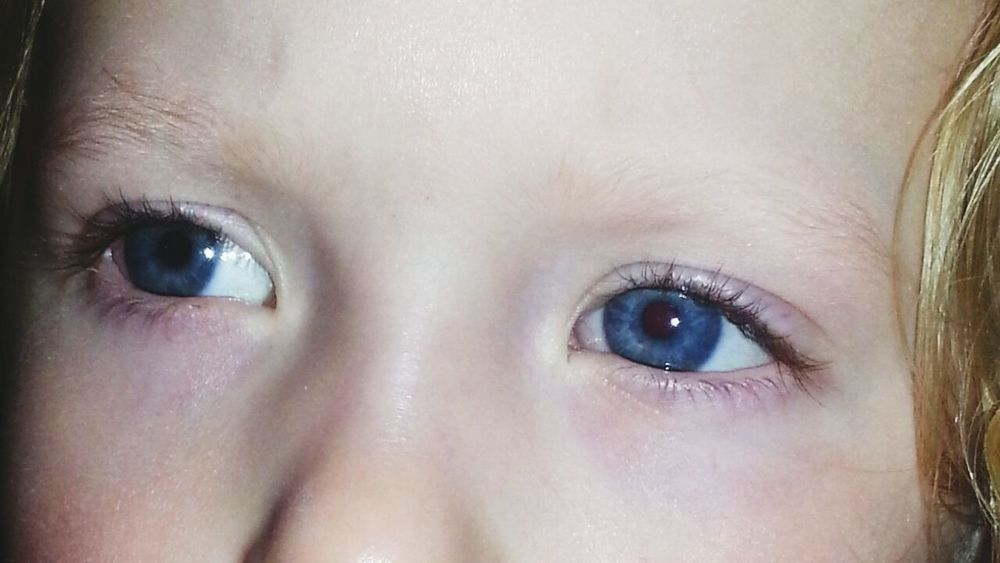 Blue Eyes❤ with My Angel <3 she is so Beautiful ♥ my Littleprincess