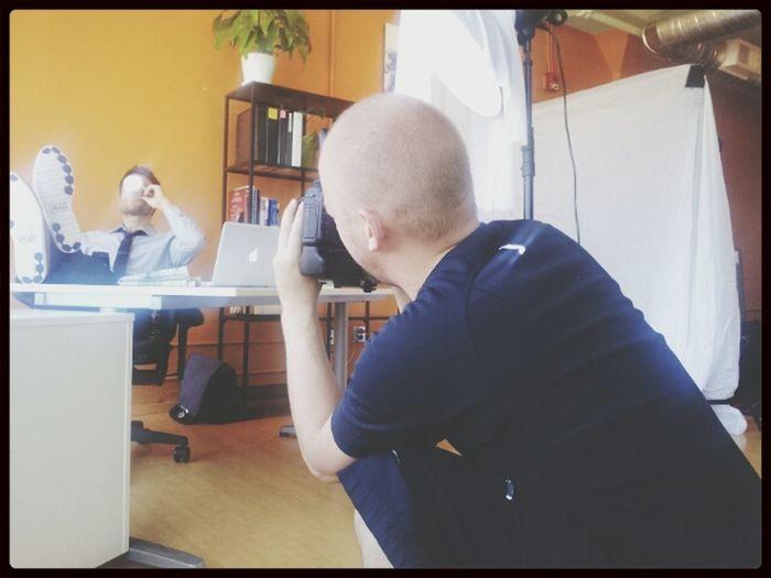 Photo Shoot Taking Photos Working Production Stills
